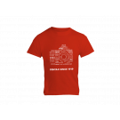 PENTAX since 1919 T-shirt Red