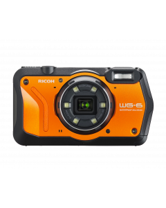 RICOH WG-6 - Orange Refurbished