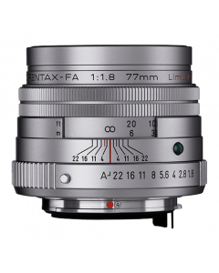 SMC FA 77mm f/1,8 Limited Silver Refurbished