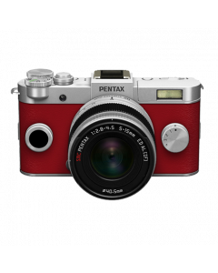 Q-S1 + 5-15mm Silver/Carmine red