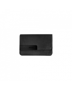 I-10 canvas & leather case  Dark Grey