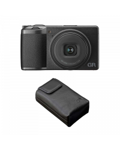 RICOH GR III + SOFT CASE GC-10