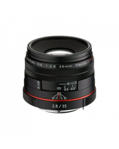 HD PENTAX-DA 35mm F2.8 Macro Limited Zwart