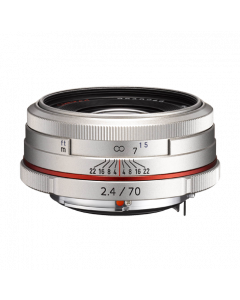 HD PENTAX-DA 70mm F2.4 Limited Silver