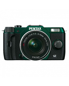 Q10 metal green/black + zoom 5-15mm