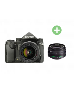 PENTAX KP Black + HD DA 18-50 mm WR